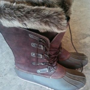 Fur Snow Boots